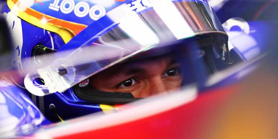 アレックス・アルボン(トロ・ロッソ・ホンダ)2019年F1中国GP<br>