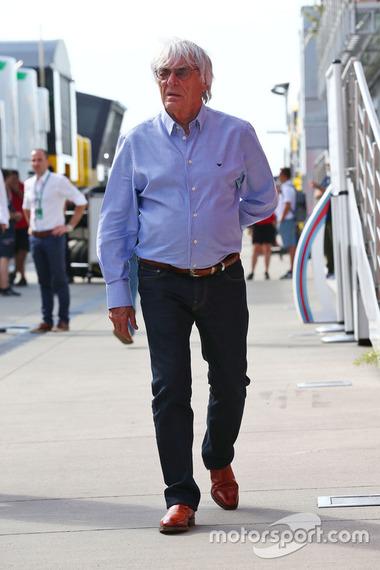 バーニー・エクレストン: F1ハンガリーGP