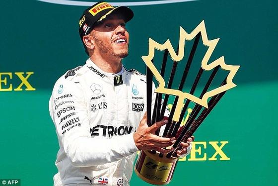 ルイス・ハミルトン、優勝、2017年F1カナダGP