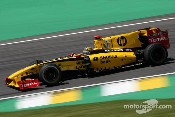 ロバート・クビサ(ルノーF1チーム)、2010年F1ブラジルGP