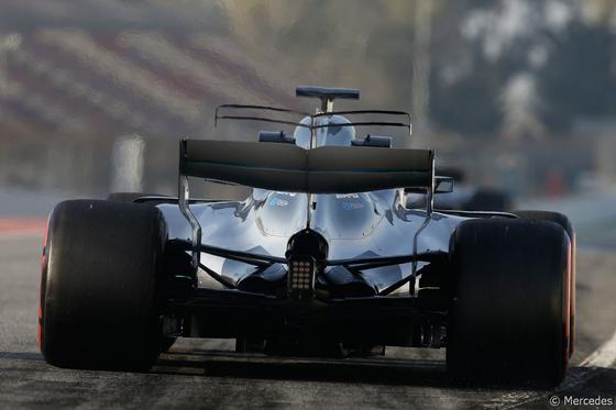 ルイス・ハミルトン(メルセデス)バルセロナF1テスト2017年3月9日