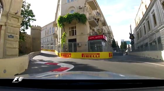 F1ヨーロッパGPサーキットをメディカル・カーの車載カメラで1周