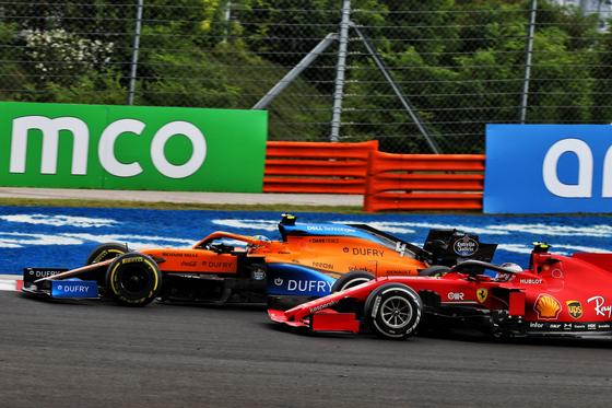 ランド・ノリスとシャルル・ルクレールのバトル:2020年F1ハンガリーGP
