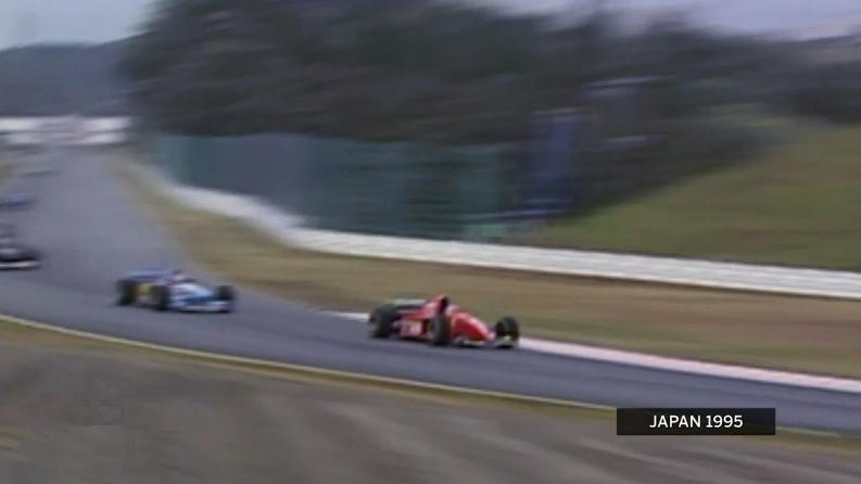 アレジの大胆な走り: 鈴鹿130R F1日本GP : F1通信