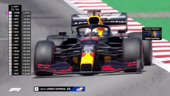 フェルスタッペンとチーム、無線のやり取り:2020年F1スペインGP
