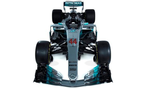 メルセデスF1 W08、ルイス・ハミルトン仕様