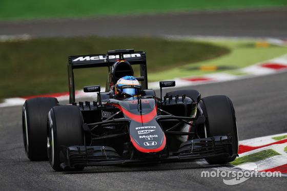 フェルナンド・アロンソ (マクラーレン・ホンダ)、2015年F1イタリアGP