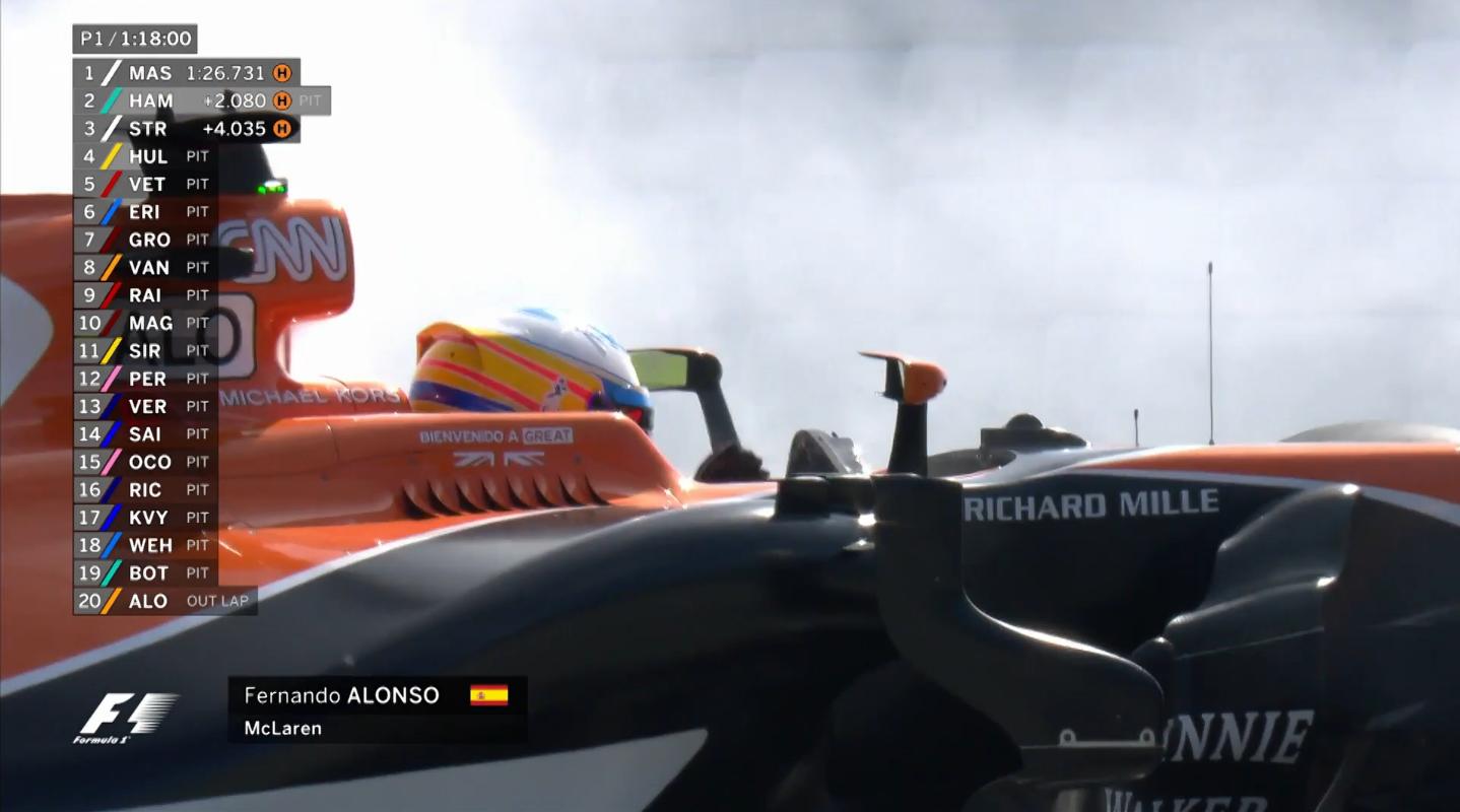 F1スペインGP動画:アロンソ、エ...