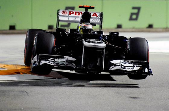 パストール・マルドナド、2012年F1シンガポールGP