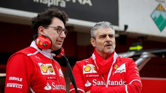マッティア・ビノット、マウリツィオ・アリヴァベーネ:フェラーリ - 2018年F1