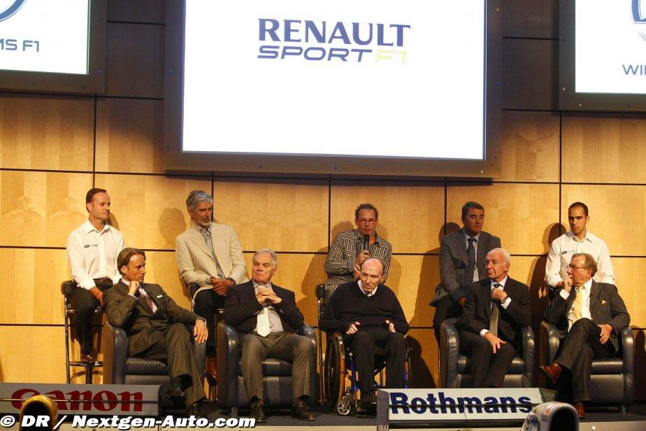 アダム・パー、パトリック・ヘッド、フランク・ウィ... フランク・ウィリアムズ、ルーベンス・バリ
