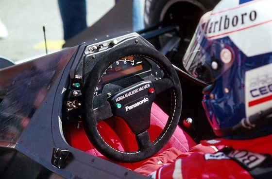 アラン・プロスト(マクラーレン・ホンダ)、1989年F1サンマリノGP