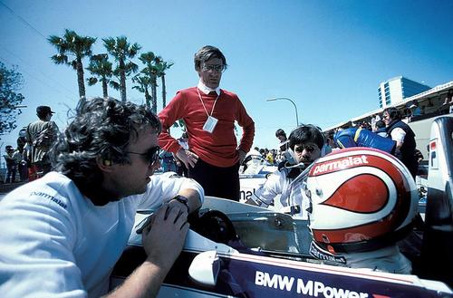 チャーリー・ホワイティング、バーニー・エクレストン、ゴードン・マレー、ネルソン・ピケ、1983年F1、ブラバムBMWチーム