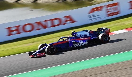 ピエール・ガスリー(トロ・ロッソ・ホンダ)2018年F1日本GP