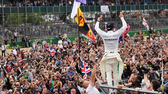 ルイス・ハミルトン(メルセデス)2017年F1イギリスGP