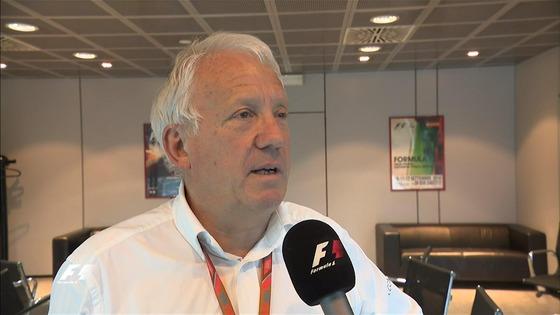 チャーリー・ホワイティング、2017年F1イタリアGP