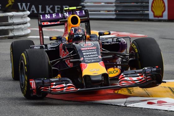 ダニール・クビアト(レッドブル)、2015年F1