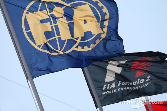 FIA旗、F1旗