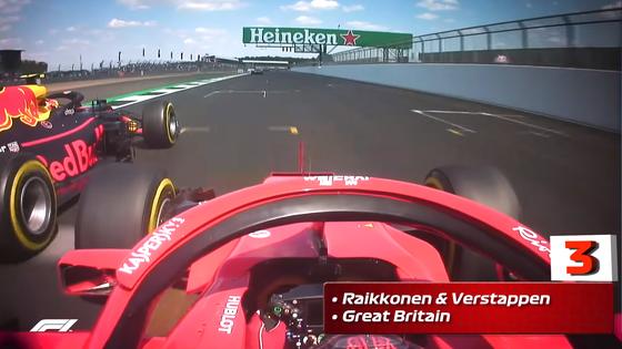 キミ・ライコネンとマックス・フェルスタッペン:2018年F1イギリスGP