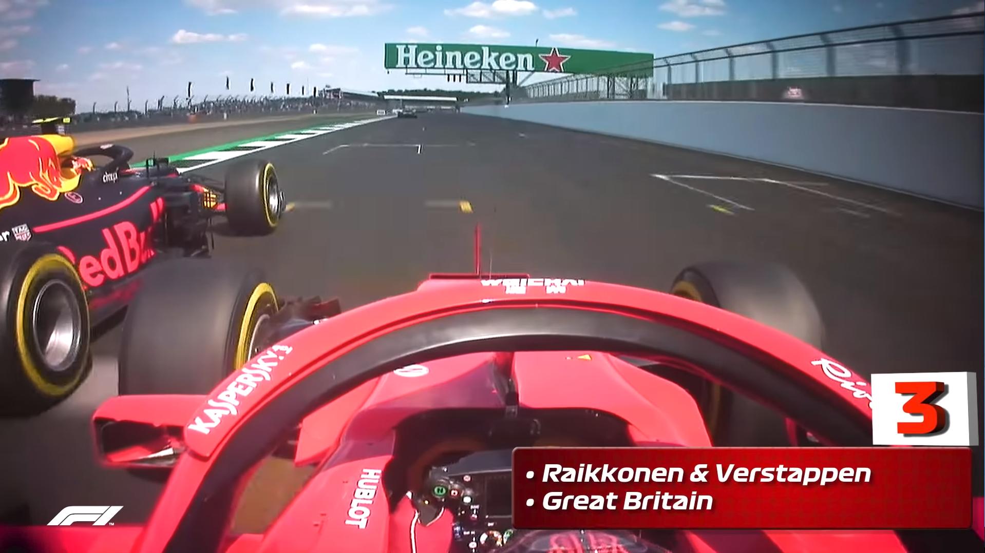 F1動画:2018年トップ10 バトル ...