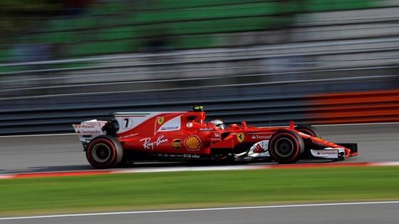 キミ・ライコネン(フェラーリ)2017年F1マレーシアGP