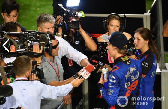 ブレンドン・ハートレイ(トロ・ロッソ・ホンダ)2018年F1シンガポールGP