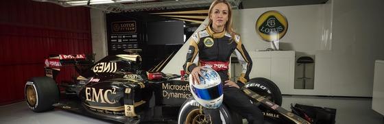 カルメン・ホルダ、ロータスF1チームの2015年開発ドライバー