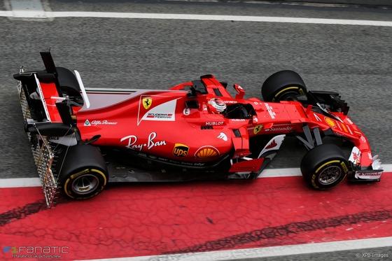 フェラーリSF70H:F1テスト2017年3月8日