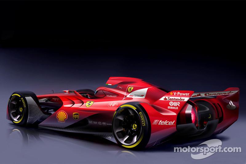 フェラーリ、急進的なF1コンセプ...