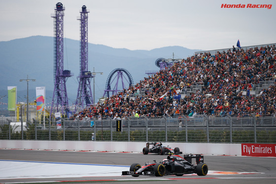 ジェンソン・バトン、フェルナンド・アロンソ(マクラーレン・ホンダ) F1ロシアGP ソチ