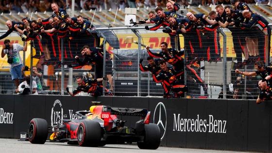 マックス・フェルスタッペン優勝:2019年F1ドイツGP