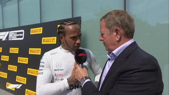ハミルトンとブランドル、パルク・フェルメでのインタビュー中ブーイングが凄い:2019年F1カナダGP