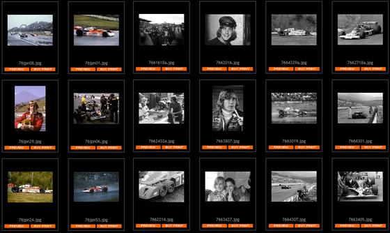 1976年F1日本GP 写真集