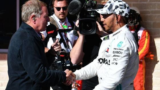 マーティン・ブランドル、ルイス・ハミルトン:2019年F1アメリカGP