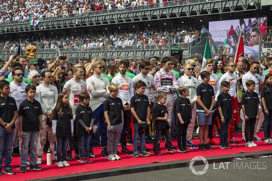 F1のグリッドキッズ