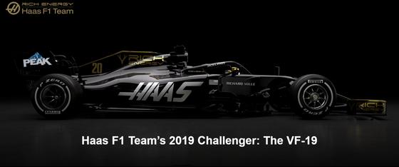 ハースVF-19:2019年F1マシン