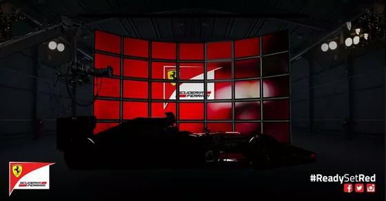 フェラーリF1マシン発表前の写真