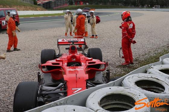 キミ・ライコネン(フェラーリSF70H):F1テスト2017年3月8日