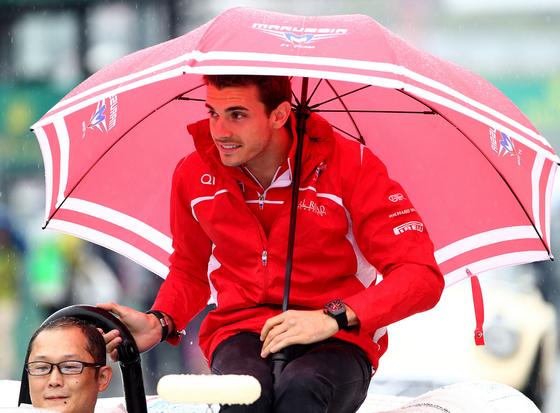 ジュール・ビアンキ(マルシア)、2014年F1日本GP