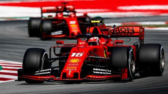 シャルル・ルクレール、セバスチャン・ベッテル(フェラーリ):2019年F1スペインGP