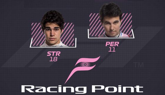 レーシング・ポイント:11 セルジオ・ペレス、18 ランス・ストロール