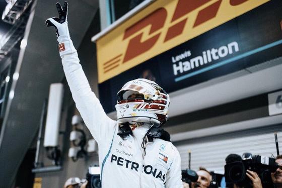 ルイス・ハミルトン(メルセデス)2018年F1シンガポールGP