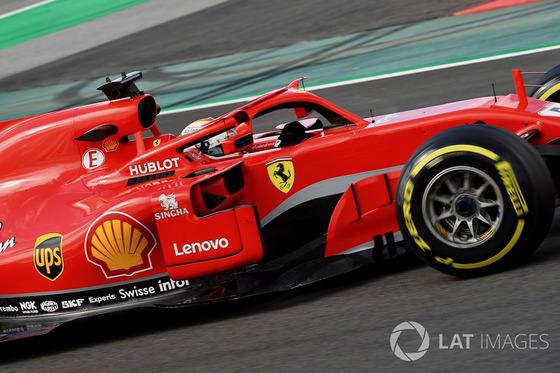 セバスチャン・ベッテル(フェラーリ)2018年F1スペインGP