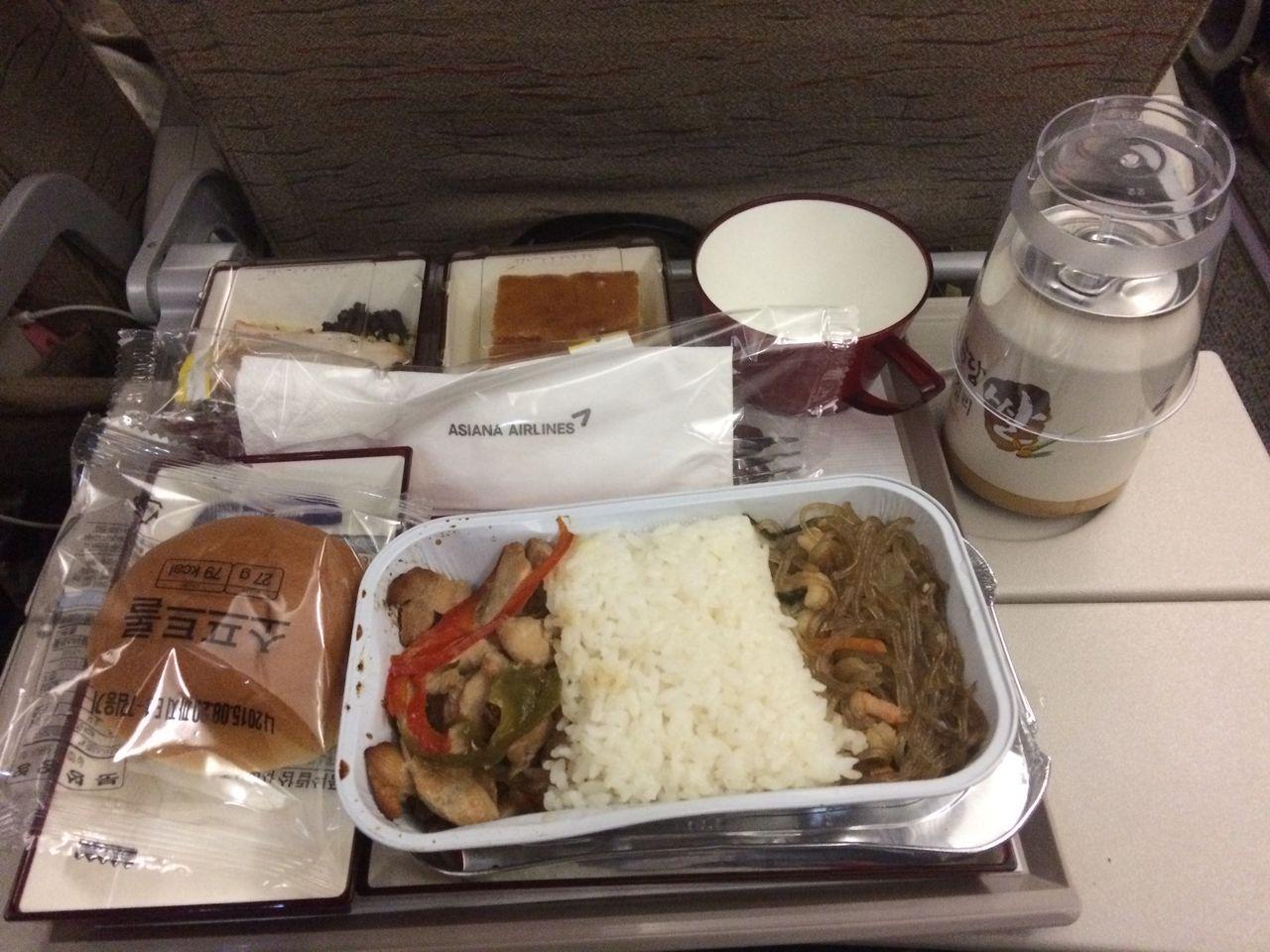 アシアナ航空 仁川 羽田 機内食