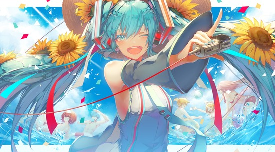 【2次】花と一緒に描かれている可愛い女の子の二次画像 その7【非エロ】