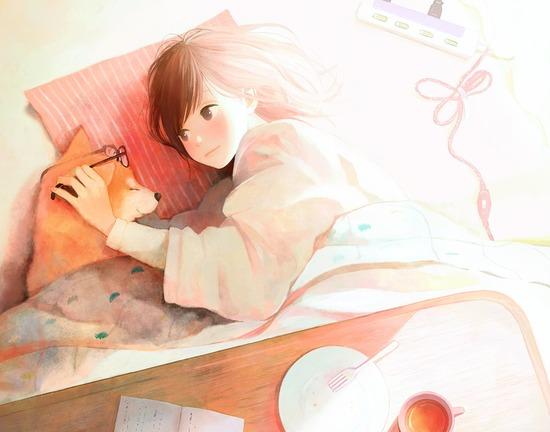 【2次】動物と戯れてる可愛い女の子の二次画像 その4【非エロ】