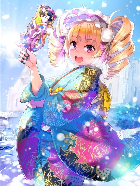 【2次】和服美人な女の子の二次画像 その19【和服】