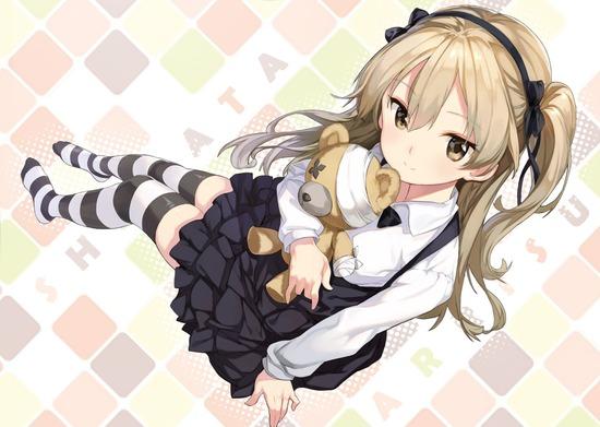 【2次】「ガルパン」の島田愛里寿ちゃんの可愛い二次画像【ガルパン:非エロ】