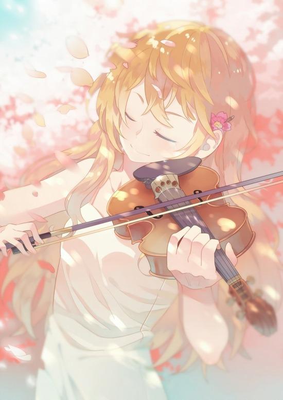 【2次】楽器を持った可愛い女の子の二次画像 その3【非エロ】