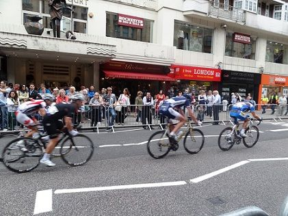 Road Cycling test race